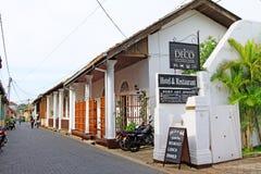 Galle Fort Townscape- Sri Lanka UNESCO World Heritage Stock Photography