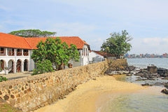 Galle fortu ` s sądu najwyższy kompleks - Sri Lanka UNESCO światowe dziedzictwo Zdjęcie Stock