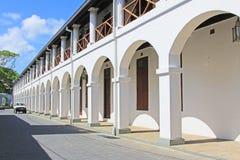 Galle fortu ` s sądu najwyższy kompleks - Sri Lanka UNESCO światowe dziedzictwo Obrazy Royalty Free