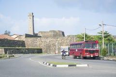Galle holendera fort Zdjęcia Stock