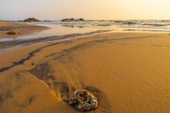 Galle-Küstenlinie, Sri Lanka stockfotografie