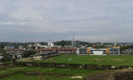 Galle landscape view Royalty Free Stock Photo
