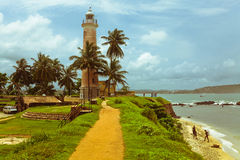 Galle lighthouse Royalty Free Stock Images