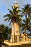 Galle Lighthouse in fort Galle, Sri Lanka Royalty Free Stock Photos