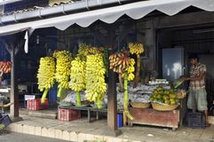 Galle market Stock Photos