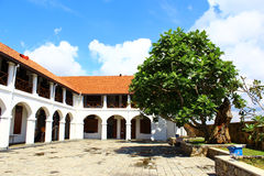 Galle - New Oriental hotel. Sri Lanka Royalty Free Stock Image