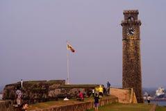 Galle, Sri Lanka - 24 de dezembro de 2013: Forte de Galle imagem de stock