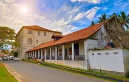 GALLE, SRI-LANKA/JANUARY 30,2017: Muzeum Narodowe w Galle Zdjęcia Royalty Free
