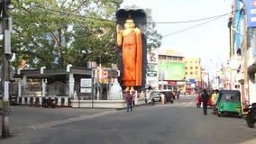 GALLE, SRI LANKA - MÄRZ 2014: Binnenverkehr in Galle Galle ist die Verwaltungshauptstadt der südlichen Provinz, Sri Lanka und ist stock footage