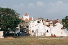 Galle, Sri Lanka Piękna sceneria antyczny holendera Galle fort Zdjęcie Stock