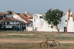 Galle, Sri Lanka Piękna sceneria antyczny holendera Galle fort Fotografia Royalty Free