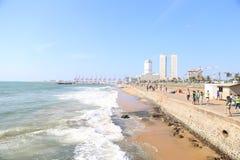 Galle vänder mot Colombo Srilanka royaltyfri fotografi
