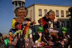 Galleggiante 2010 di carnevale Fotografia Stock Libera da Diritti