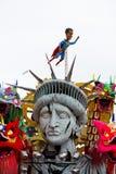 Galleggiante di carnevale Fotografia Stock Libera da Diritti
