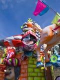 Galleggiante di carnevale Fotografia Stock
