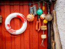 Galleggianti per le barche Fotografie Stock Libere da Diritti