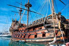 galleon海王星 库存照片