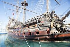 galleon海王星 免版税图库摄影
