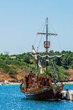 Galleon称呼了船 库存图片