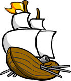 Galleon Royalty Free Stock Image