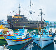 The galleon Royalty Free Stock Image