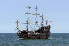 Galleon Dragon. Royalty Free Stock Photography