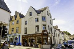 The Galleon Fish and Chip Shop, Conwy, North Wales Royalty Free Stock Image