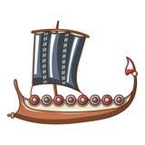 Galleon icon, cartoon style. Galleon icon. Cartoon illustration of galleonvector icon for web stock illustration