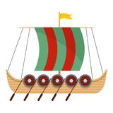 Galleon icon, flat style. Galleon icon. Flat illustration of galleon vector icon for web vector illustration