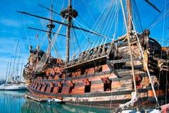 Galleon Neptun Stockfotos