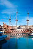 Galleon Neptune Royalty Free Stock Photo