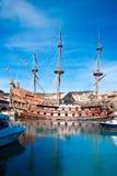 Galleon Neptune. The Galleon Neptune, built for the Roman Polanski film Pirates in 1986 (with Walter Matthau), now moored in Porto Antico, Genoa, Italy royalty free stock photo