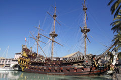 The Galleon Neptune in Genoa, Italy Stock Photos