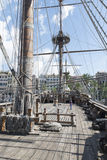 Galleon Neptune main deck Royalty Free Stock Photo