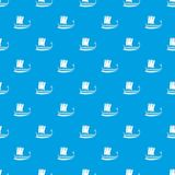 Galleon pattern vector seamless blue. Repeat for any use royalty free illustration