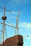 Galleon portugais Photographie stock