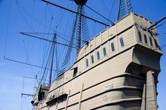 Galleon portugués foto de archivo libre de regalías