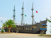 The galleon replica Royalty Free Stock Photography