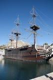 Galleon ship Stock Photos