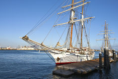 Galleons in San Pedro California. Royalty Free Stock Photography
