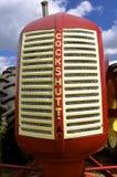 Galler av en Cockshutt traktor Royaltyfria Bilder