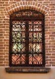 galler smyckat well fönster Royaltyfri Foto
