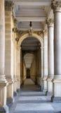 Gallereya of columns. Photo was taken in Chez republic in December 2007 Stock Photography