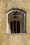 Gallerförsedd fönsteröppning Royaltyfri Foto