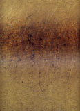 gallerförsedd grunge skrapat trä Arkivbilder