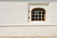 gallerförsett fönster Fotografering för Bildbyråer