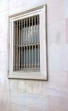 gallerförsett fönster Royaltyfri Fotografi