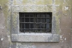gallerförsett fönster Royaltyfria Foton