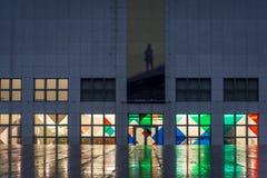 Galleri av samtida konst, Hamburg, Tyskland arkivfoton
