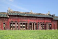 Galleri av slottkomplexet av den förbjudna purpurfärgade staden ton Royaltyfri Bild